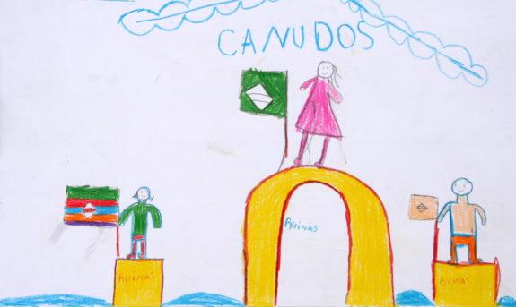 Desenho: Ruinas de Canudos