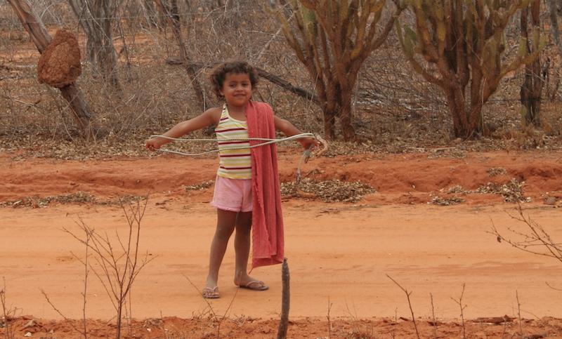 Criança no Povoado do Raso, Canudos-BA